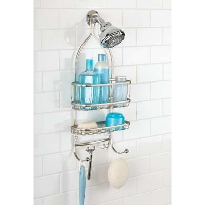 Bath Hanging Shower Caddy Bathroom Organizer Shelf Rack Storage Soap Holder  New