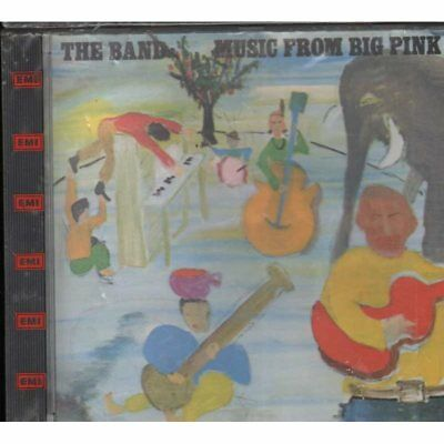 The Band CD Music From Big Pink / EMI Capitol Records CDP 7 46069 2 scellé