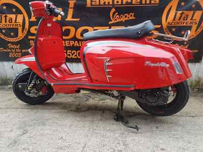 Royal alloy Lambretta Scooter GT200 Liquid Cooled - Ital scooters