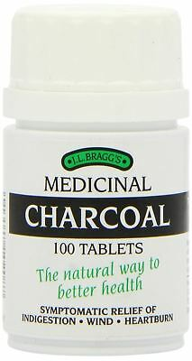 Braggs Medicinal Charcoal Tablets [100s] (6 Pack)