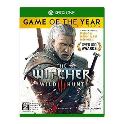 """Xbox One Witcher 3 Wild Hunt Game of the Year Edition CERO rating """"Z"""" Japan Impo"""