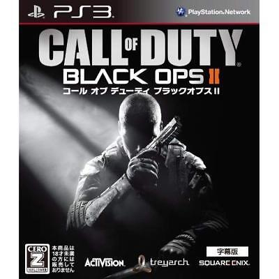 """Used PS3 Call of Duty Black Ops II Subtitled Version CERO Rating """"Z"""" Japan"""