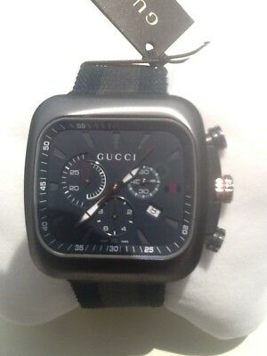82eb586ef1d Mens Gucci Coupe chronograph Watch in mint boxed condition