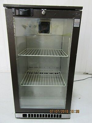 Osborne Single Glass door Drinks Display Fridge Chiller under counter Cooler