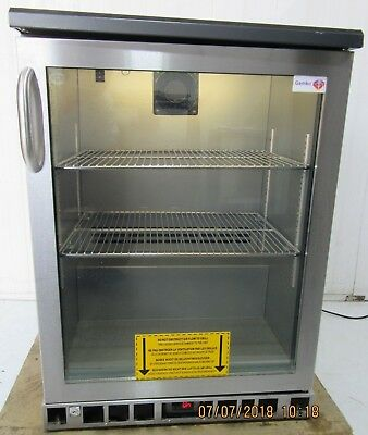 Gamko Single Glass door Drinks Display Fridge Chiller under counter MG/140RGCS