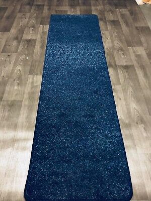Carpet Hallway Or Stair Runners 2 Foot Wide Ocean Blue Any Length