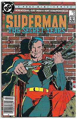 DC Copper Age : Superman - The secret years #2 (Frank Miller) Curt Swan (1985)
