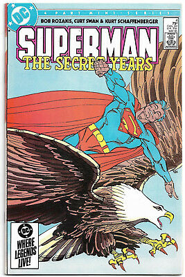 DC Copper Age : Superman - The secret years #4 (Frank Miller) Curt Swan (1985)