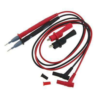 PT1003 Red Black Multimeter Test Lead Probe Wire Pen Cable With Alligato 20A TR