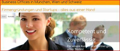 Virtual + Business Offices & GmbH, AG, Ltd - in Ländern: DE, CH, AT, UK, HU, IT