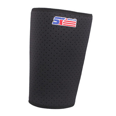 Thigh Sleeve Support Compression Brace Wrap Hamstring Groin Protector Guard