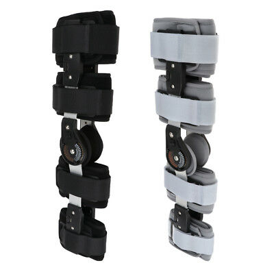 03704a8e39 Hinged Knee Support Adjustable Strap Brace Orthopedic Flexion Extension Pad