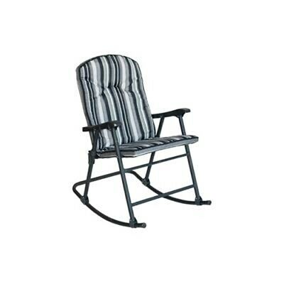 Prime Products Cambria Padded Cobalt Rocker  13-6808 No Border Fees
