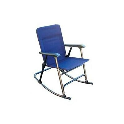 Prime Products Elite Folding Rocker California Blue  13-6501 No Border Fees