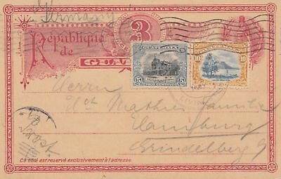 Guatemala: 1907: post card via New Orleans to Germany