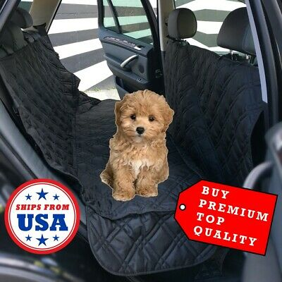 PET GIFT Quilted Blanket Dog Cat Car Seat Cover Protector Travel Transport NEW