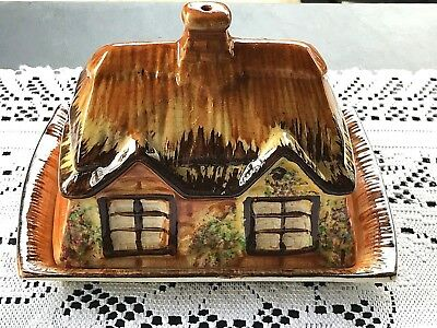 Vintage Cottage Ware Price Kensington Ceramic Butter/Cheese Dish Made in England