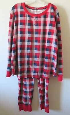 ff23df0f4b3a Target Gilligan   O Malley Thermal Pajama Set Women s 3X Red Plaid 2 Piece  NEW