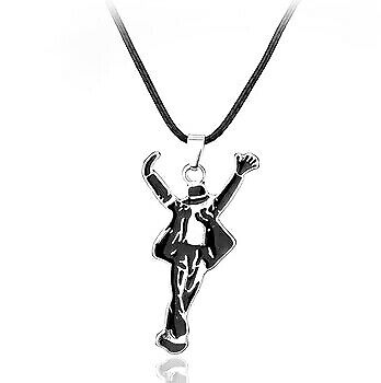 Michael Jackson Collana Autografo Bad This is it Guanti Scarpe Necklace