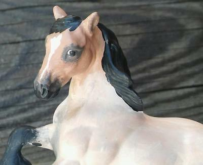 Custom Breyer Horse CM SM Stablemate G2 Cantering Clydesdale Draft Horse Drafter