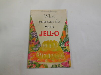 What you can do with Jell-O 1936 2nd Edition 6th printing recipe cookbook