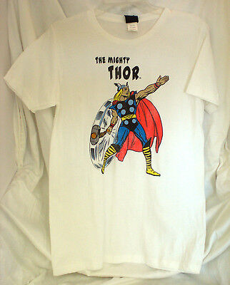 Thor Marvel Comics Avengers T Shirt Thunder God Jack Kirby Large New W/ Tags