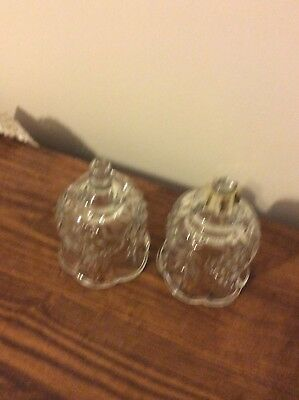 Home Interior / Homco Set Of 2 Clear Reflections Votive Cups / Candle Holders