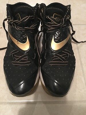 acc862f226bc Nike Shoes Calvin Johnson CJ81 Trainer Motor City Black and Gold Men's Size  10.5