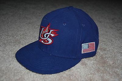 8de861843cc WBC USA World Baseball Classic 59FIFTY Cap New Era Hat Headwear America 7  3 4