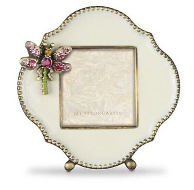 JAY STRONGWATER DRAGONFLY Mini Picture Frame 5335 Swarovski Jewel ...