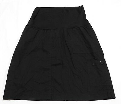 Ladies  size 12 MATERNITY  BUB 2 B Black Cargo skirt stretch BUB2b