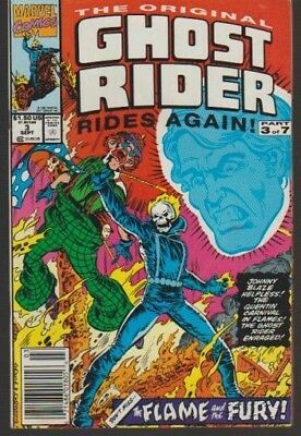 The Original Ghost Rider Rides Again # 3 ((1991 Hot!!!)) Very Fine