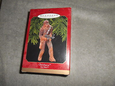 1999  Hallmark Keepsake Ornament  STAR WARS - CHEWBACCA