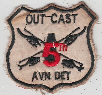 US Army 5th Aviation Detachment Patch