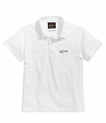 900d828f Greg Norman NEW White Size 3T Performance Polo Short Sleeve Shirt $29 261