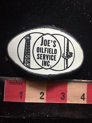 Vtg JOES OILFIELD SERVICE INC. Patch - Gas / Oil / Energy Related 76AA