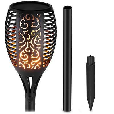 Real Solar Path Torch Light LED Dancing Flame Lighting Flickering Lamp Garden