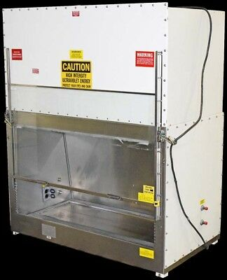 Laboratory 22x46x26 Glass Panel Biological UV Safety Cabinet Fume Hood System