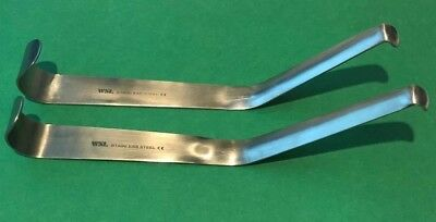 Set of 2 Channel Retractor 8MM &10MM,Veterinary,Surgical Dental Instruments CE.