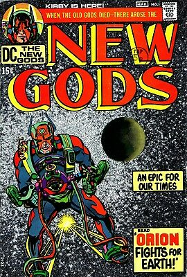 Us Comics The New Gods Digital Collection On Dvd