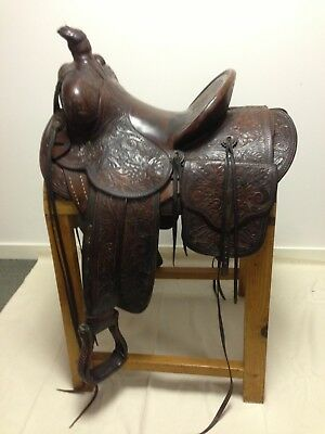 Humphrey Bogart's personal fully embossed western saddle