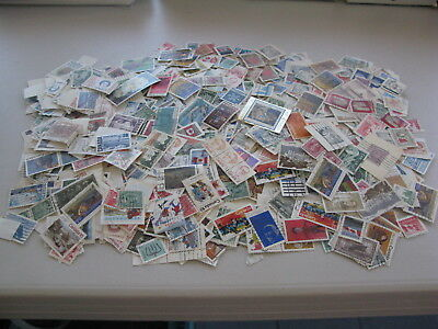 Canada Used Off Paper 4 Ounces - 115 Grams Box Lot