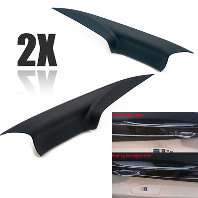 2pcs Front Door Interior Inner Handle Pull Cover For BMW 7 F01 F02 2008-2015