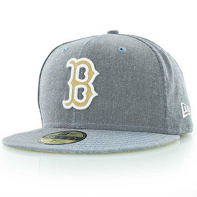Boston Red Sox 59FIFTY Officially Licenced Chamsuede MLB New Era Fitted Cap