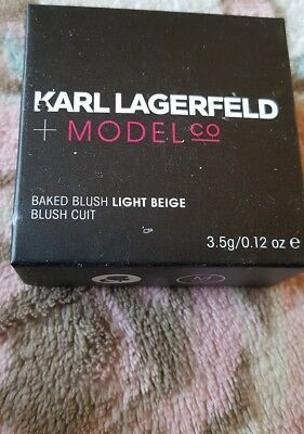 KARL LARGERFELD & MODEL Co. Baked Blush Rose Beige
