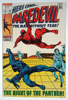 Daredevil 52 (1969)    7.5 (VF-)    BARRY SMITH, BLACK PANTHER