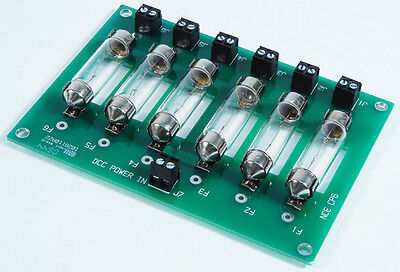 NCE 227 CP6 DCC Circuit Protector with bulbs 6 Zone for PowerCab   MODELRRSUPPLY