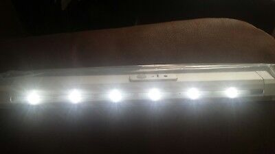 LED incline rechargeable wardrobe light 350mm