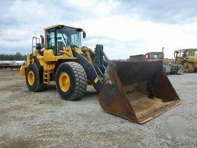 "2012 Volvo L110G Wheel Loader A/c Cab Hydraulic Q/c 115"" Bucket"