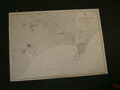 Vintage Admiralty Chart 2357 CHINA - SHALLOW BAY - CHINWANGTAO ROAD 1929 edn